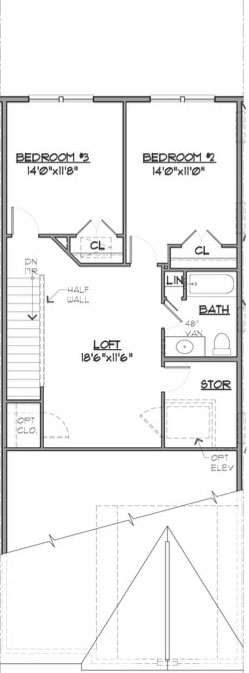 Newport Floor Plan Bedroom Level