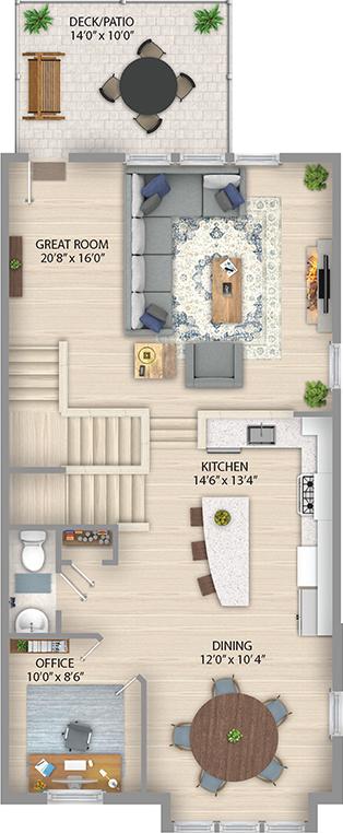 Espresso Floor Plan Main Level