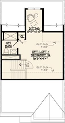 Jamestown II Floor Plan W Optional Loft