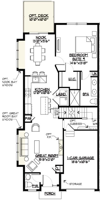 Marion Floor Plan Main Level