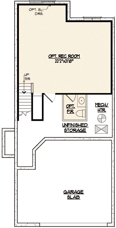 Somerset Floor Plan Basement Level