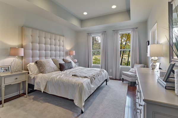 Walnut Walk Newport Master Bedroom
