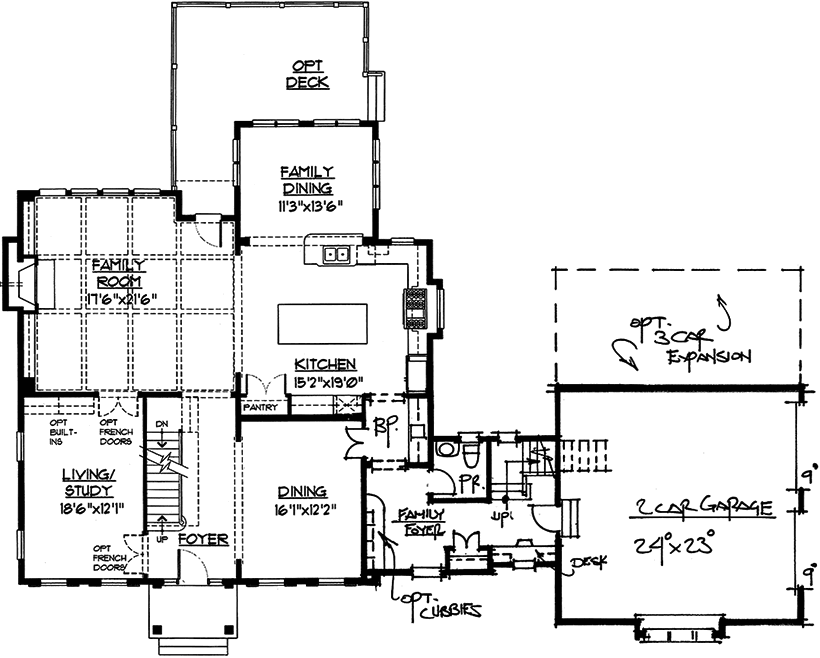 Avenir Floor Plan 1st Floor