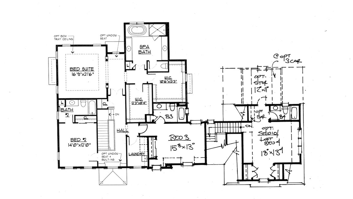 Avenir Floor Plan 2nd Floor