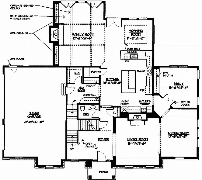 Laurel Floor Plan 1st Floor