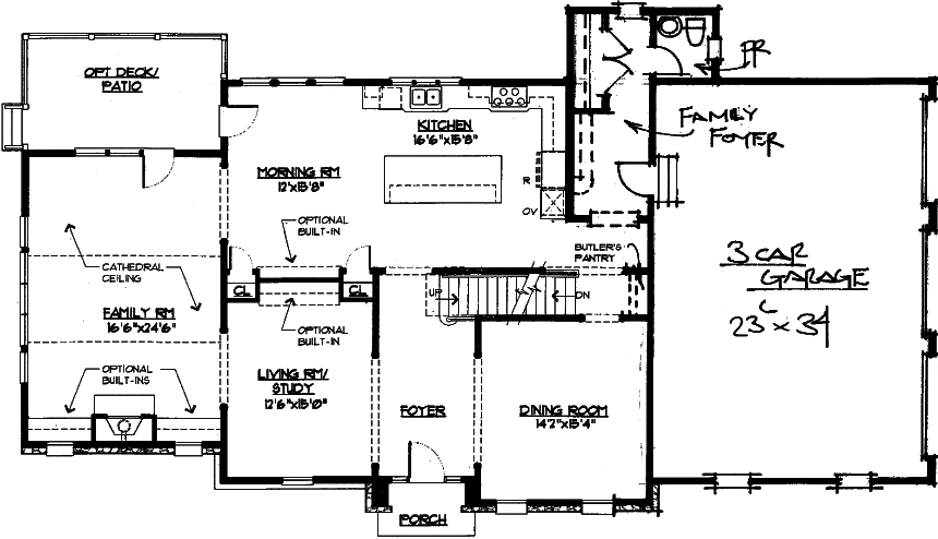 Linden Floor Plan First Floor